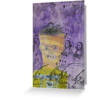 Some Days Are A Purple Haze Greeting Card