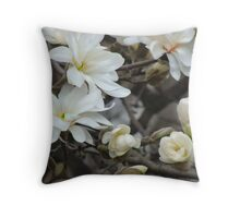 Blossoms Everywhere Throw Pillow