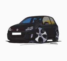 VW Golf GTi (Mk6) Black by Richard Yeomans