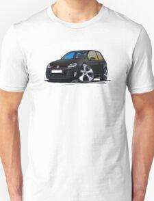 VW Golf GTi (Mk6) Black T-Shirt