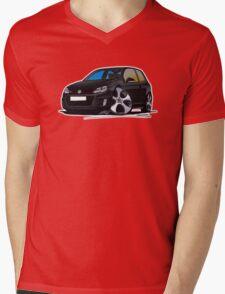 VW Golf GTi (Mk6) Black Mens V-Neck T-Shirt