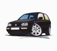 VW Golf (Mk3) Black by Richard Yeomans