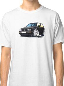 VW Golf (Mk3) Black Classic T-Shirt