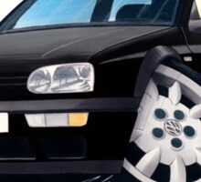 VW Golf (Mk3) Black Sticker