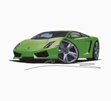 Lamborghini LP560/4 Lime by Richard Yeomans