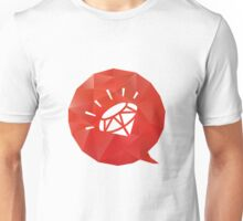Rubyists! Let's voice out! Unisex T-Shirt