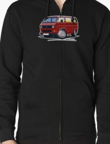 VW T25 / T3 D.Red T-Shirt