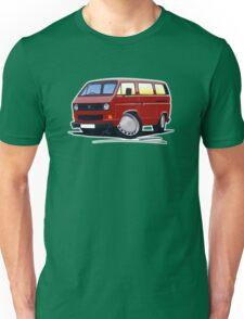 VW T25 / T3 D.Red Unisex T-Shirt