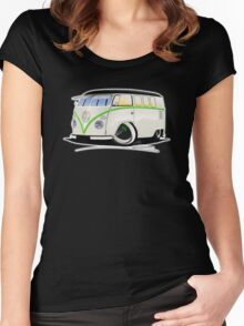 VW Splitty (11 Window) RB Women's Fitted Scoop T-Shirt