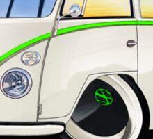VW Splitty (11 Window) RB Sticker