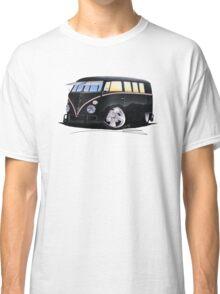 VW Splitty (11 Window) F (Black) Classic T-Shirt