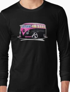VW Splitty (23 Window) C Long Sleeve T-Shirt