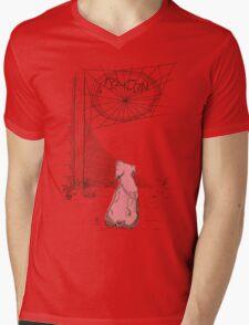 Bacon Mens V-Neck T-Shirt