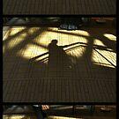 Kalvertoren - passers-by (triptych) by Marjolein Katsma
