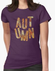 autumn Womens Fitted T-Shirt
