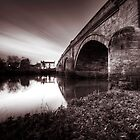 Swarkestone Bridge by Darius Kay
