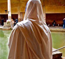 Roman Baths. Bath, England by Daniel Sorine