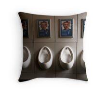 British urinal Throw Pillow