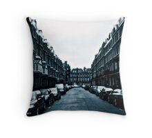 London street scene Throw Pillow