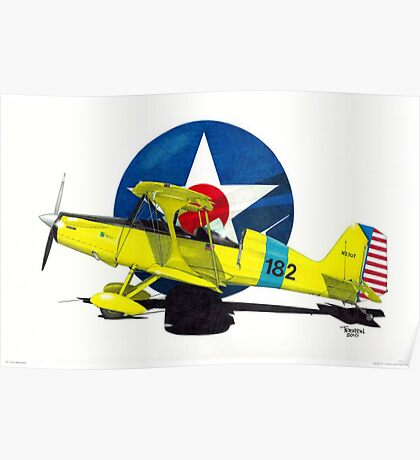 """""""Air Force Starduster"""" Poster"""