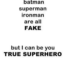 REAL SUPERHERO by ryekis