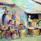 The Barrel Maker  by henrytheartist