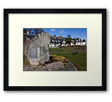 The Arran Clearances Framed Print