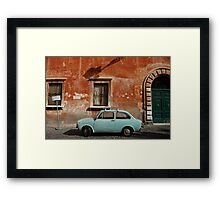Italian Car Framed Print