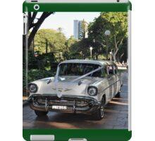 1957 Chevrolet Limousine, Hyde Park, Sydney, Australia 2012 iPad Case/Skin