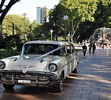 1957 Chevrolet Limousine, Hyde Park, Sydney, Australia 2012 by muz2142
