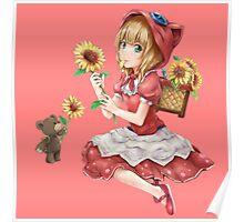 Annie sunflower art, League of legends Poster