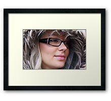 my sister 2 Framed Print