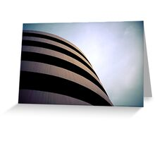 Spinning architecture Greeting Card
