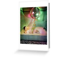 Disco Bubbles Greeting Card