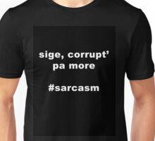 Corrupt pa more! BW Unisex T-Shirt