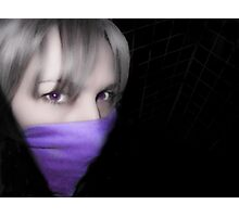 Violet Hush Photographic Print