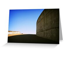 Concrete curve, Montreal Greeting Card