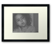 is there anything new under the sun? Framed Print