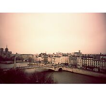 Above Paris Photographic Print