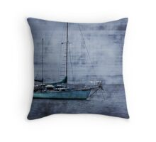 Sailing The Bahamas 2 Throw Pillow