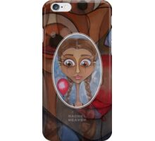 Birthday Girl with Red Balloon iPhone Case/Skin