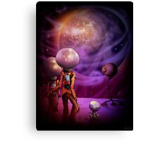 The Earth Looks Lovely Tonight Canvas Print