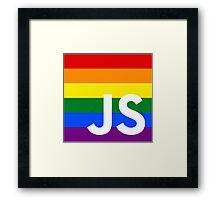 JavaScript Pride Framed Print