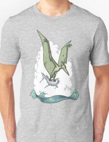 Green Pterodactyl T-Shirt