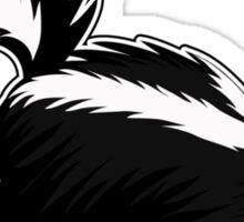 Skating Skunk Sticker
