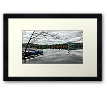 Reflections - Kezar Lake ... Lovell, Maine Framed Print
