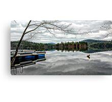 Reflections - Kezar Lake ... Lovell, Maine Canvas Print