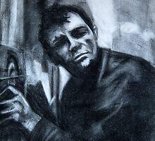 Jack Kerouac by jeffadkins