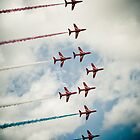 Red Arrows by ROGUEstudio