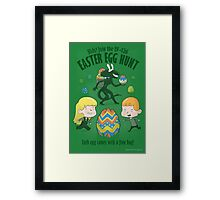 A Xenomorph Easter Special Framed Print